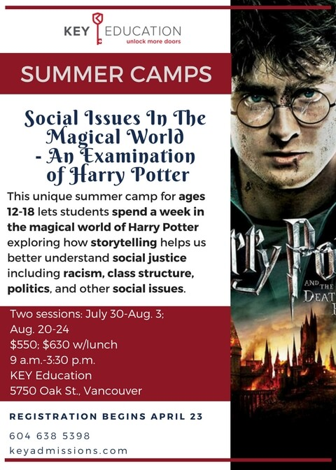 Harry Potter Literary Camp