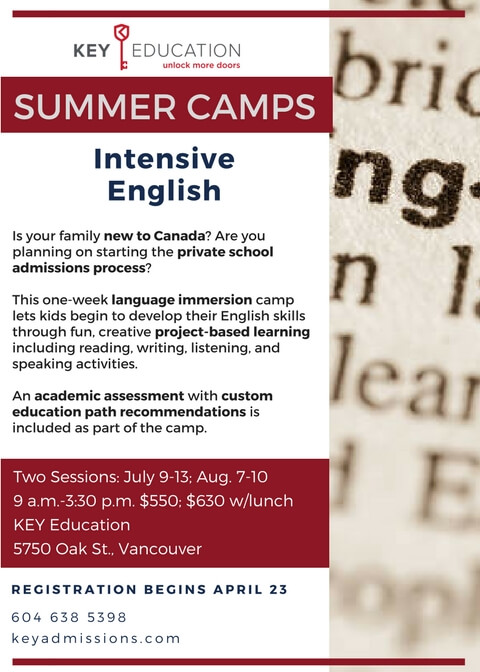 Intensive English Camp