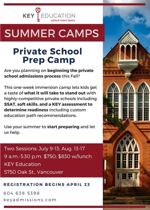 Private School Prep Camp